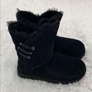 Authentic Grey UGG Constantine black Boots